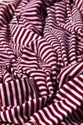 Mens Candy Stripe Burgundy Scarf Photo (2)