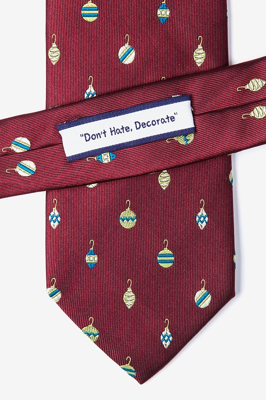 """Don't Hate, Decorate"" Tie"