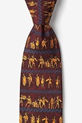 Ancient Greek Warriors Tie Photo (0)
