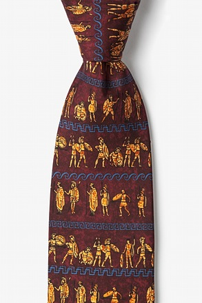 _Ancient Greek Warriors Tie_