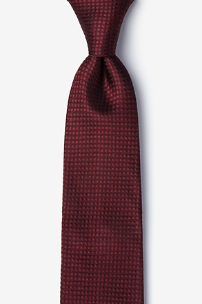 Burgundy Revitalize Tie For Boys