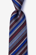 Carn Burgundy Tie Photo (0)