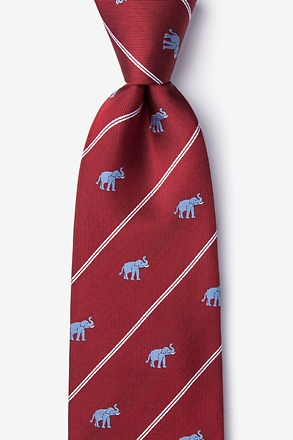 _Extra Trunk Space Burgundy Tie_