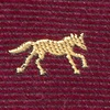 Burgundy Silk Hold Your Horses Tie