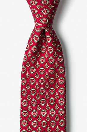 Holiday Preserves Tie