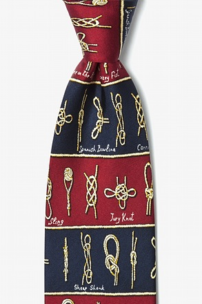 Nautical Knots Tie