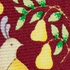 Burgundy Silk Partridge In A Pear Tree Tie