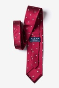 Shipshape Burgundy Tie Photo (2)