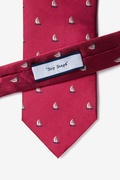 Shipshape Burgundy Tie Photo (3)