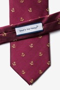 What's the Holdup? Burgundy Tie Photo (2)