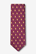 Whiskey & Stogies Extra Long Tie