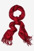 Burgundy Pashmina by Scarves.com