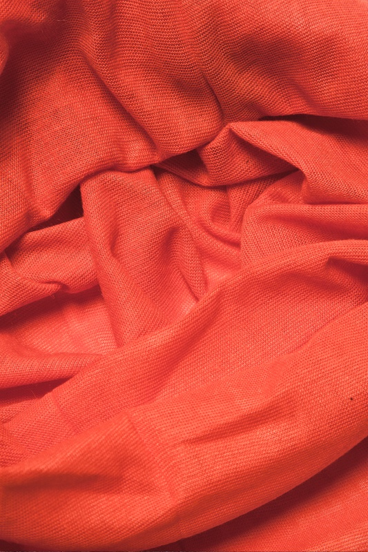 Basic Stretchy Burnt Orange Headband Photo (2)