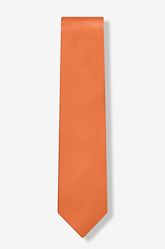 "Burnt Orange 3"" Skinny Tie"