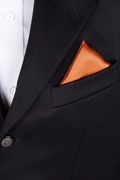 Burnt Orange Pocket Square Photo (2)