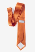 Burnt Orange Tie For Boys