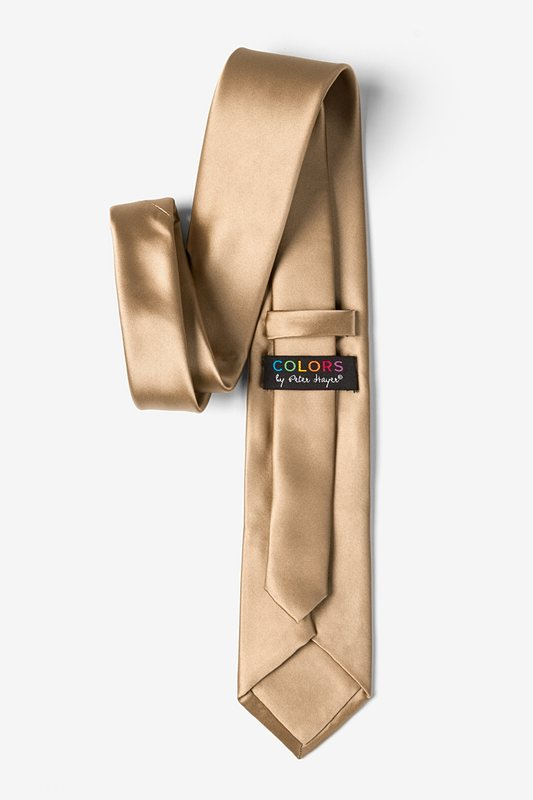 Butterscotch Extra Long Tie Photo (2)