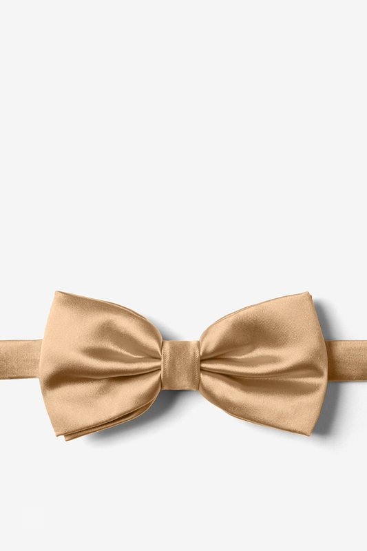 Butterscotch Pre-Tied Bow Tie Photo (0)