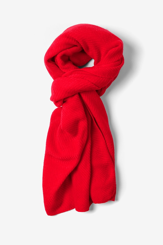 Candy Apple Red Sheffield Scarf by Scarves.com