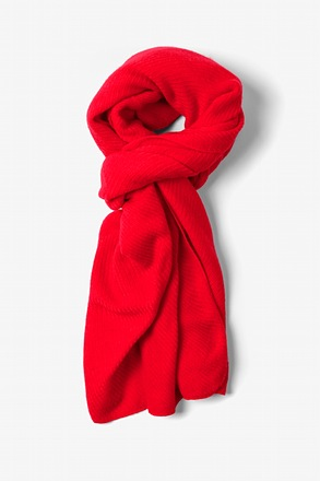 Candy Apple Red Sheffield Scarf