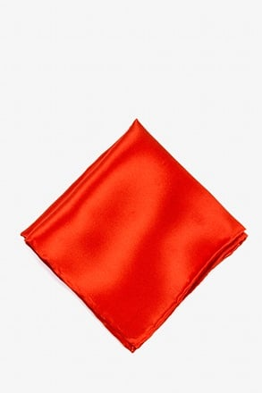 _Candy Apple Red Pocket Square_