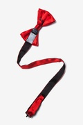 Candy Apple Red Pre-Tied Bow Tie