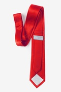 Candy Apple Red Tie For Boys Photo (2)