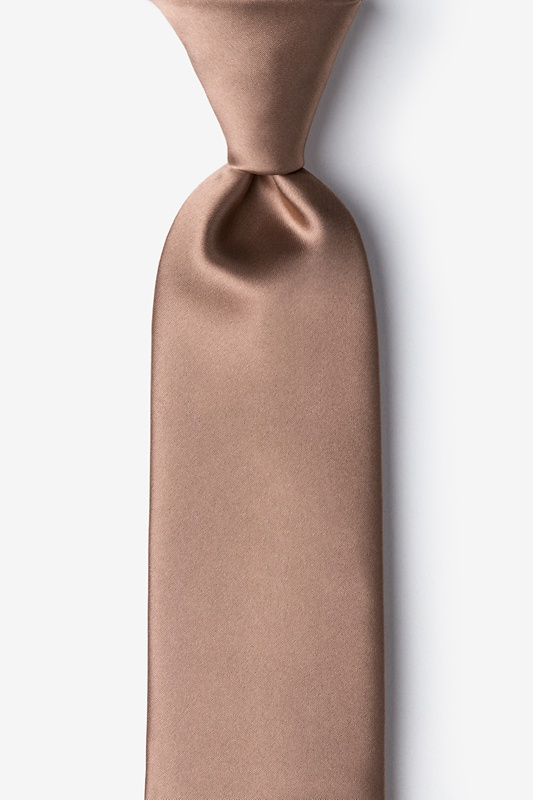 Cappuccino Extra Long Tie Photo (0)