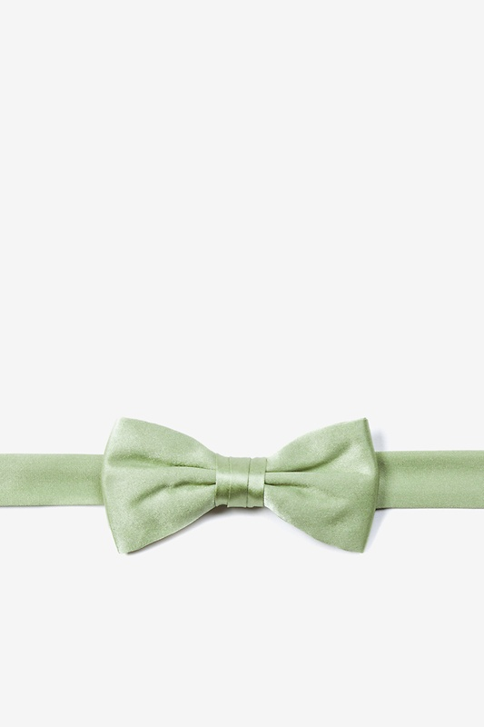 Celadon Green Bow Tie For Boys