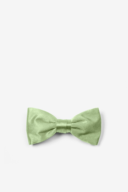 Celadon Green Bow Tie For Infants Photo (0)