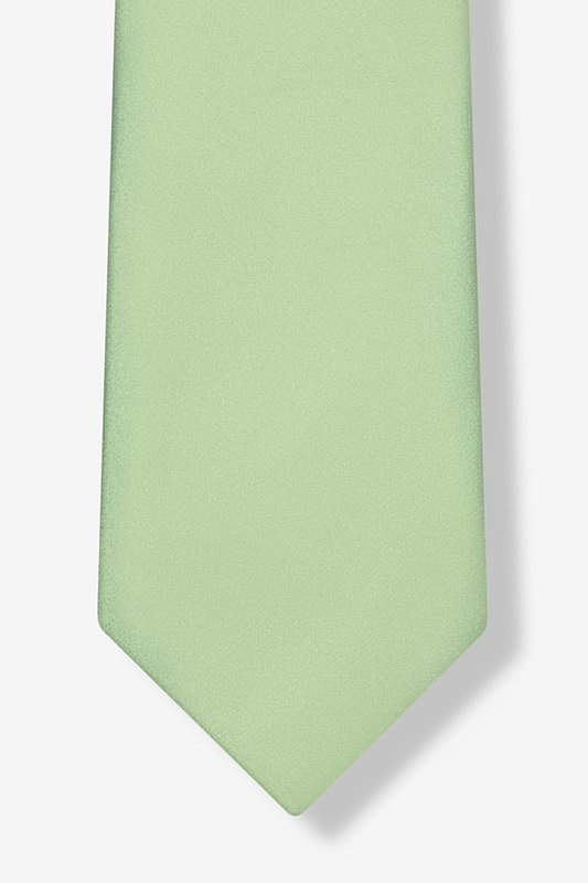 Celadon Green Extra Long Tie