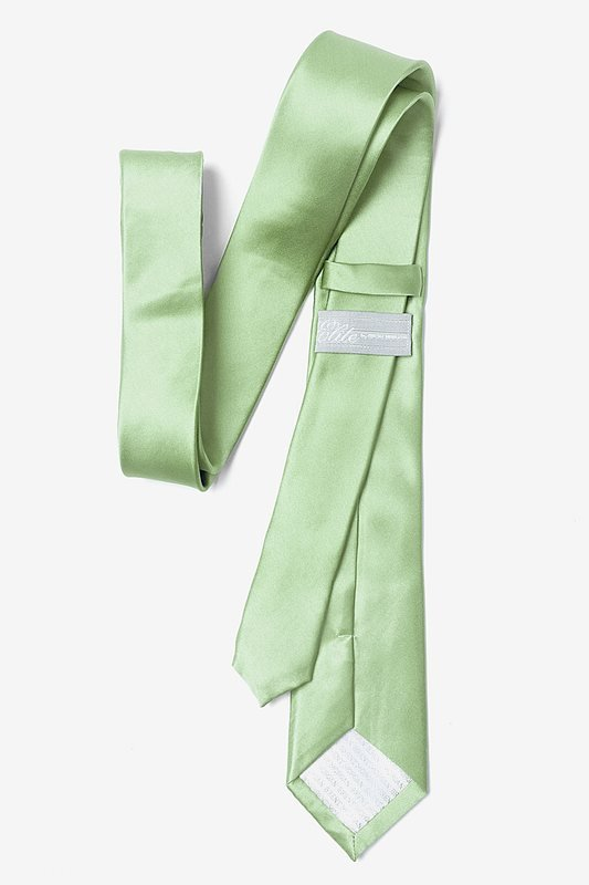 Celadon Green Skinny Tie Photo (2)