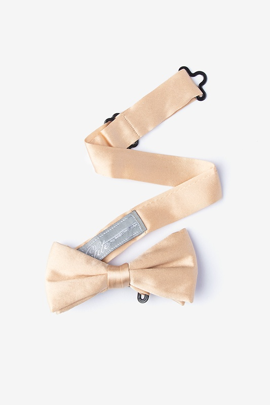 Champagne Bow Tie For Boys Photo (1)
