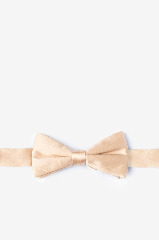 Champagne Bow Tie For Boys Photo (0)