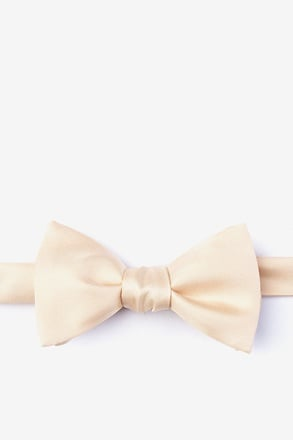 _Champagne Self-Tie Bow Tie_