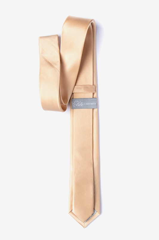 Champagne Skinny Tie Photo (1)
