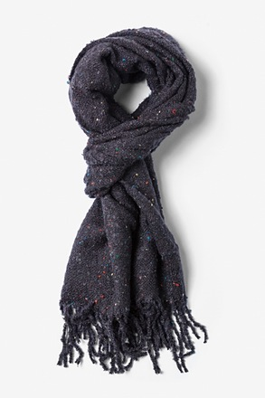 Charcoal Victoria Speckled Scarf