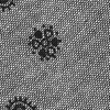 Charcoal Cotton Charcoal Hunter Paisley Skinny Tie