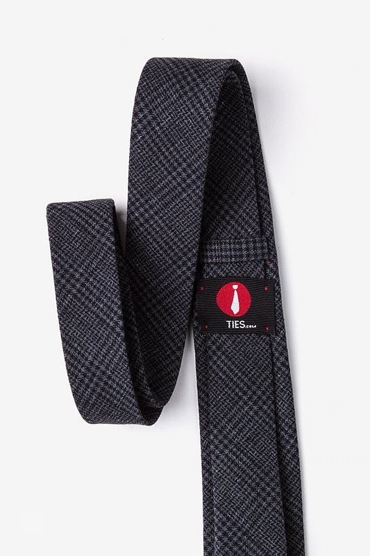Cottonwood Charcoal Extra Long Tie Photo (2)