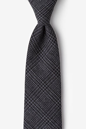 Cottonwood Charcoal Extra Long Tie