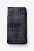Charcoal Cotton Cottonwood Pocket Square