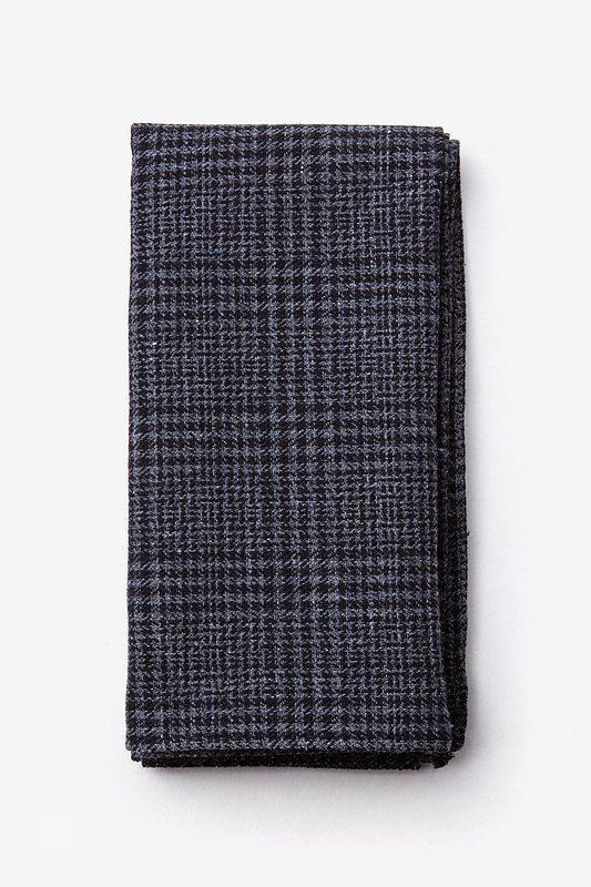 Cottonwood Charcoal Pocket Square Photo (0)