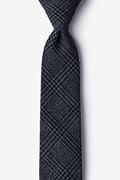 Cottonwood Charcoal Skinny Tie Photo (0)