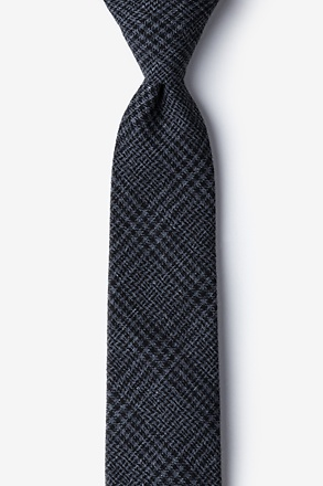 Cottonwood Charcoal Skinny Tie