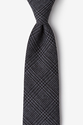 Cottonwood Charcoal Tie