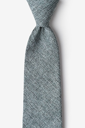 Galveston Charcoal Tie