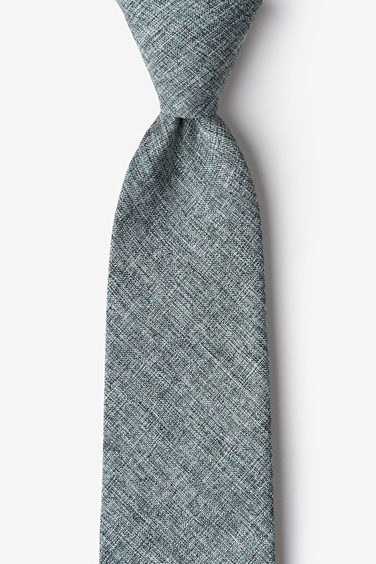 Galveston Charcoal Tie Photo (0)