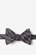 Charcoal Cotton Glenn Heights Bow Tie