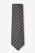 Glenn Heights Charcoal Extra Long Tie Photo (1)