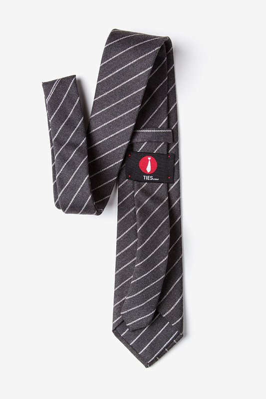 Glenn Heights Charcoal Extra Long Tie Photo (2)